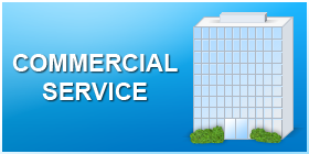 we provide commercial service for sprinklers