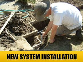 new irrigation system installed in Fairfield